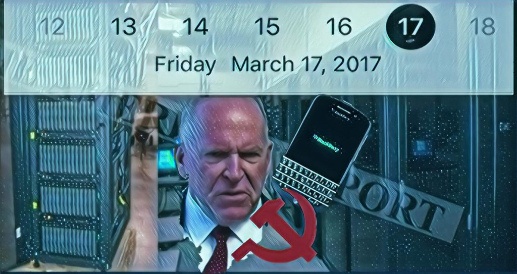 "BRENNAN'S ""FUSION CENTER"" FABLE IS COVERUP FOR ""THE HAMMER"" SURVEILLANCE SYSTEM BRENNAN AND CLAPPER USED TO SPY ON TRUMP; COUP WENT INTO OVERDRIVE MARCH 17, 2017 - The American Report"