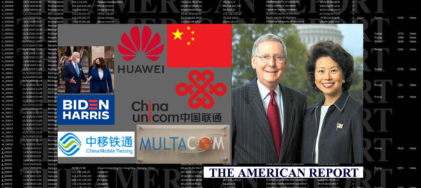 ELAINE CHAO - MITCH MCCONNELL - CHINA - 2020 US ELECTION HACK - THE AMERICAN REPORT