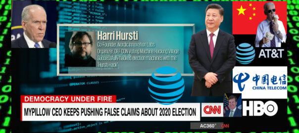 AT&T - CNN - HBO - CHINA -JOHN BRENNAN - HARRI HURSTI - THE AMERICAN REPORT - 1280