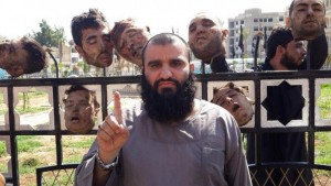 isis heads