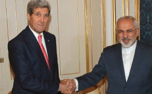 Kerry and Iranian counterpart Zarif
